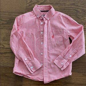 Johnnie-o boys button down shirt